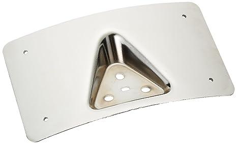 2e59ba20a2c Amazon.com  Custom Dynamics CD-PFM-C License Plate Mount (Chrome ...