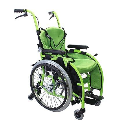 Sillas de ruedas Carro para niños Manual Scooter para ...
