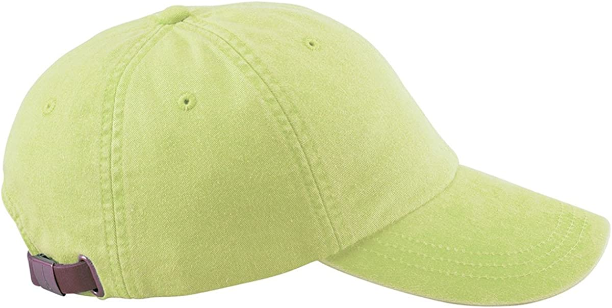 Adams 6-Panel Washed Pigment-Dyed Cap