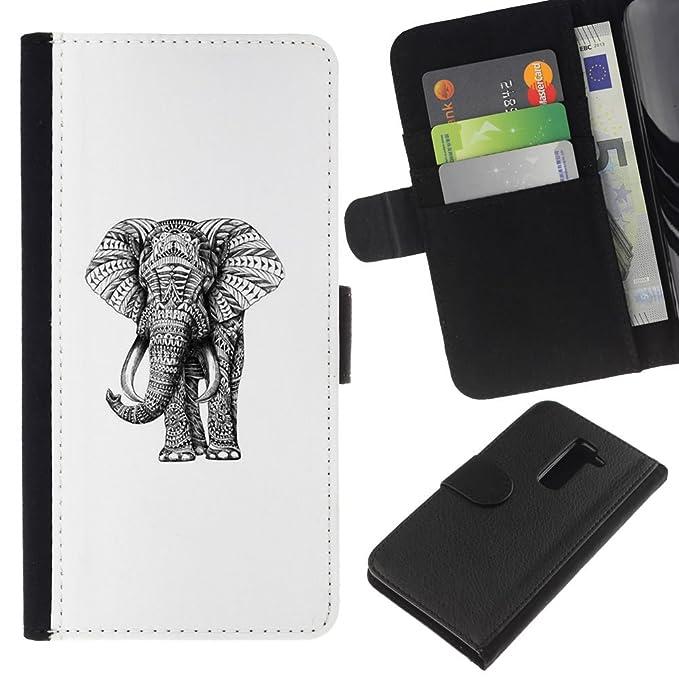 Smartphone Cell Phone/gift choice cartera Carcasa Funda para LG G2 ...