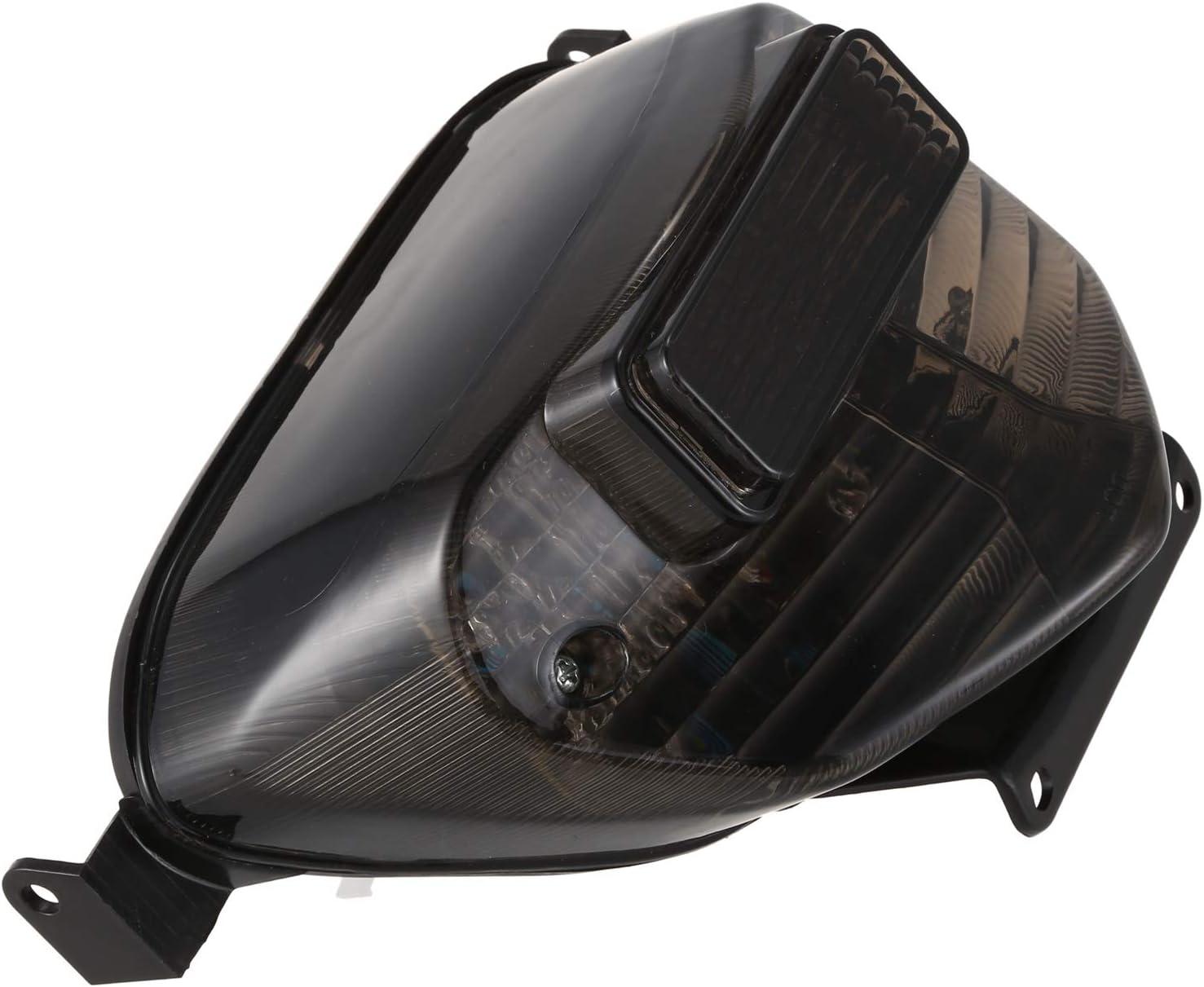 YeBetter Moto Fum/éE LED Feu Arri/èRe Frein Clignotant Rouge Jaune pour 2000-2003 GSXR GSX-R 600 750 1000 Accessoires de Moto