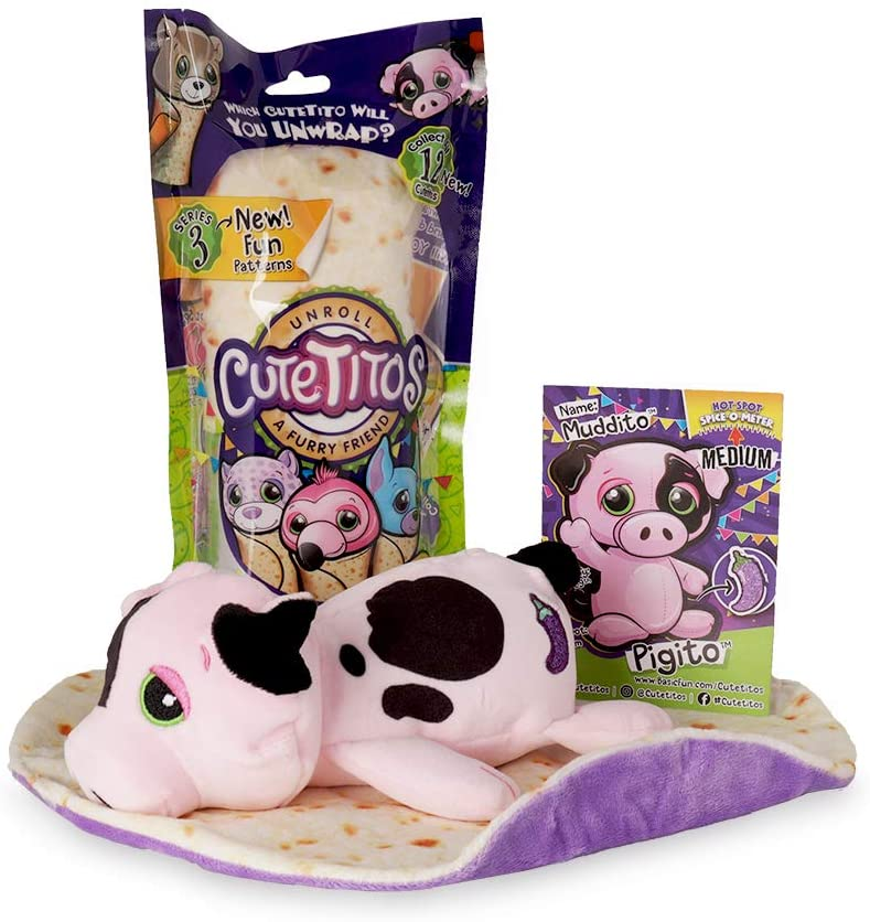 Amazon Com Cutetitos Mystery Stuffed Animals Collectible Plush Series 3 Toys Games Cutetitos series 3 blind bag burrito plush toy review unboxing reveal | pstoyreviews. cutetitos mystery stuffed animals collectible plush series 3