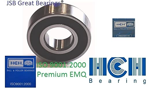 Qty.2 Premium Seal Bearing 6203 2rs HCH Ball Bearings 6203 RS ABEC3 6203-2RS