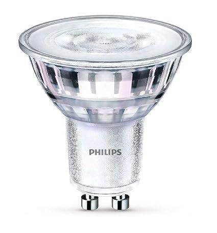 Philips Bombilla para Foco LED GU10, 5 W, Cálido, Pack de 1