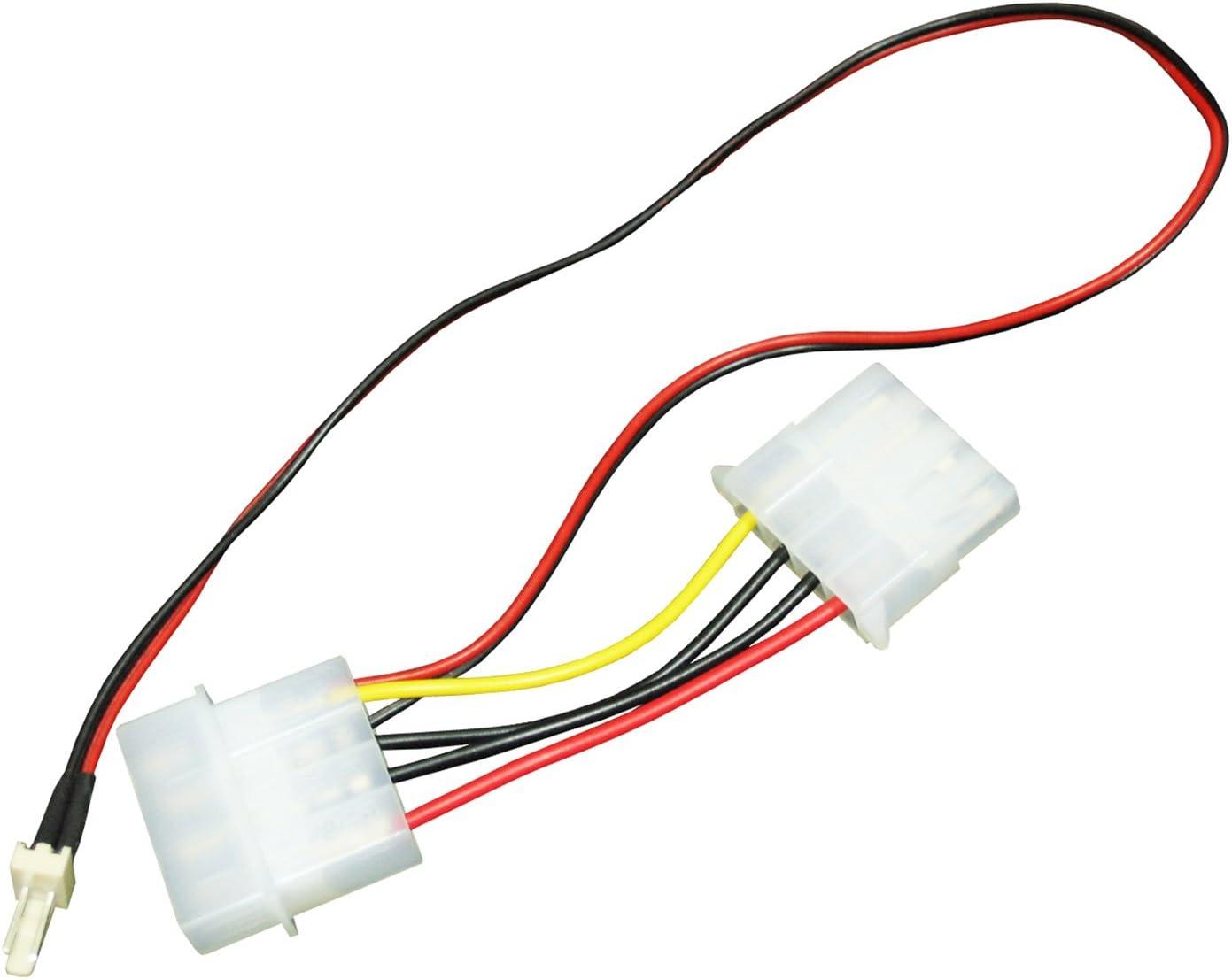 Aabcooling C16 Lüfter Adapter Kabel Netzteil 4pin Molex Elektronik