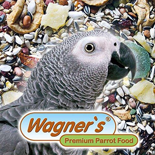 Wagner's Mix - Papageienfutter für Graupapageien - 1 kg Saatenmischung