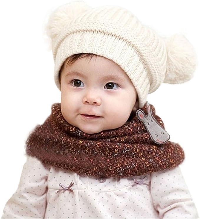 DEELIN Sombreros De Punto para Las Mujeres Girls Beanie Hat Lana ...
