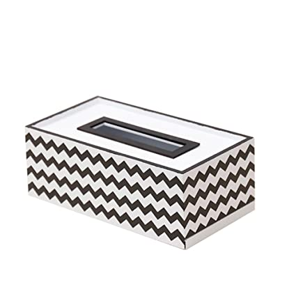 Geryy Caja de pañuelos, Bandeja, Bandeja multifunción, Toalla de Papel, Mesa de