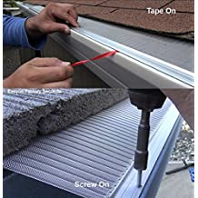 Amazon Com Gutter Guards 6 Inch