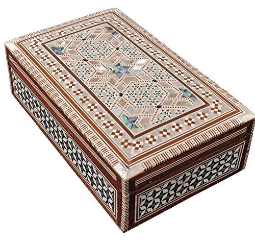 Amazon Small Decorative Boxes: Amazon.com: CraftsOfEgypt Jewelry Box Mother Of Pearl
