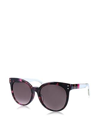 89c169be53d7f Amazon.com  Fendi Fuchsia Havana Brown Shade Sunglasses  Clothing