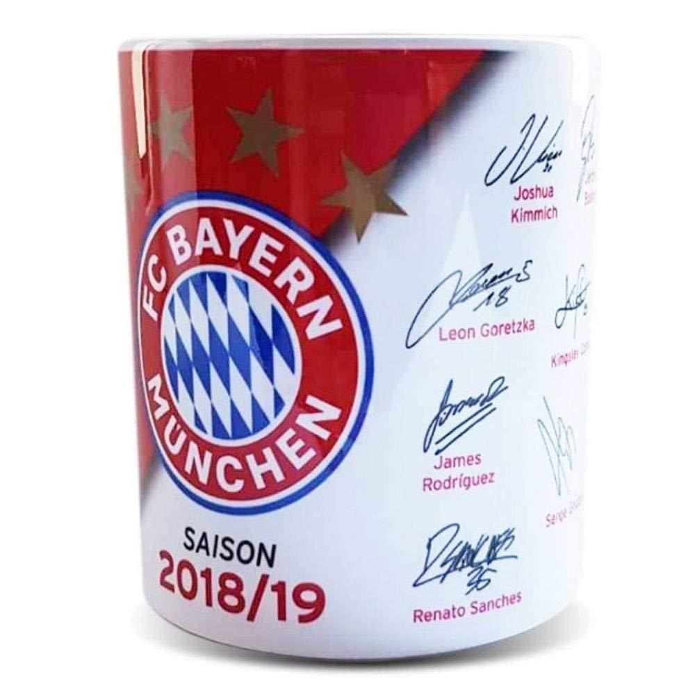 FC Bayern M/ünchen Tasse Signature 2018//19
