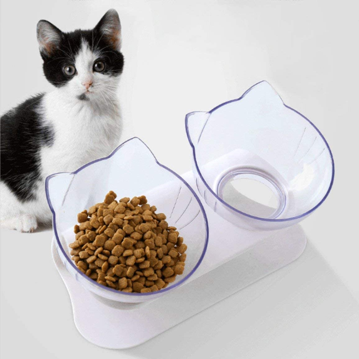 Taz/ón para Mascotas ortop/édico Anti-v/ómitos BPA y pl/ástico Libre de t/óxicos Taz/ón para el Cuello para Mascotas Gato Perro Proteger Taz/ón Cervical 1PCS