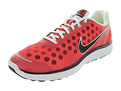buy online a076b 6a8b7 Amazon.com | Nike Men's LUNARSWIFT+ 2 RUNNING SHOES 8 (SPORT RED ...