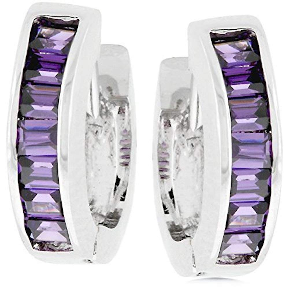Covet Lilac Circlet Earrings