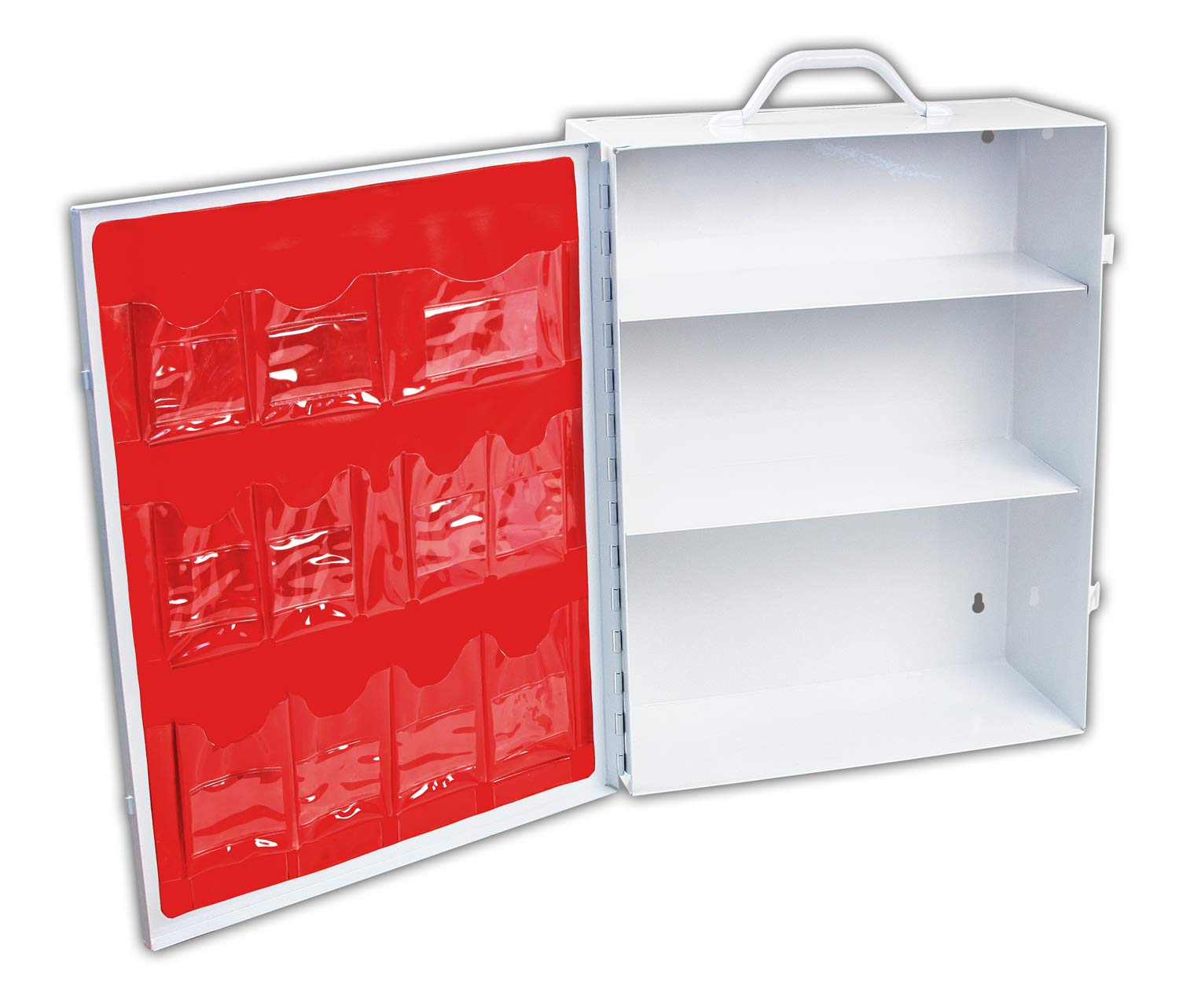 Rapid Care First Aid 62003 3 Shelf First Aid Cabinet without Product