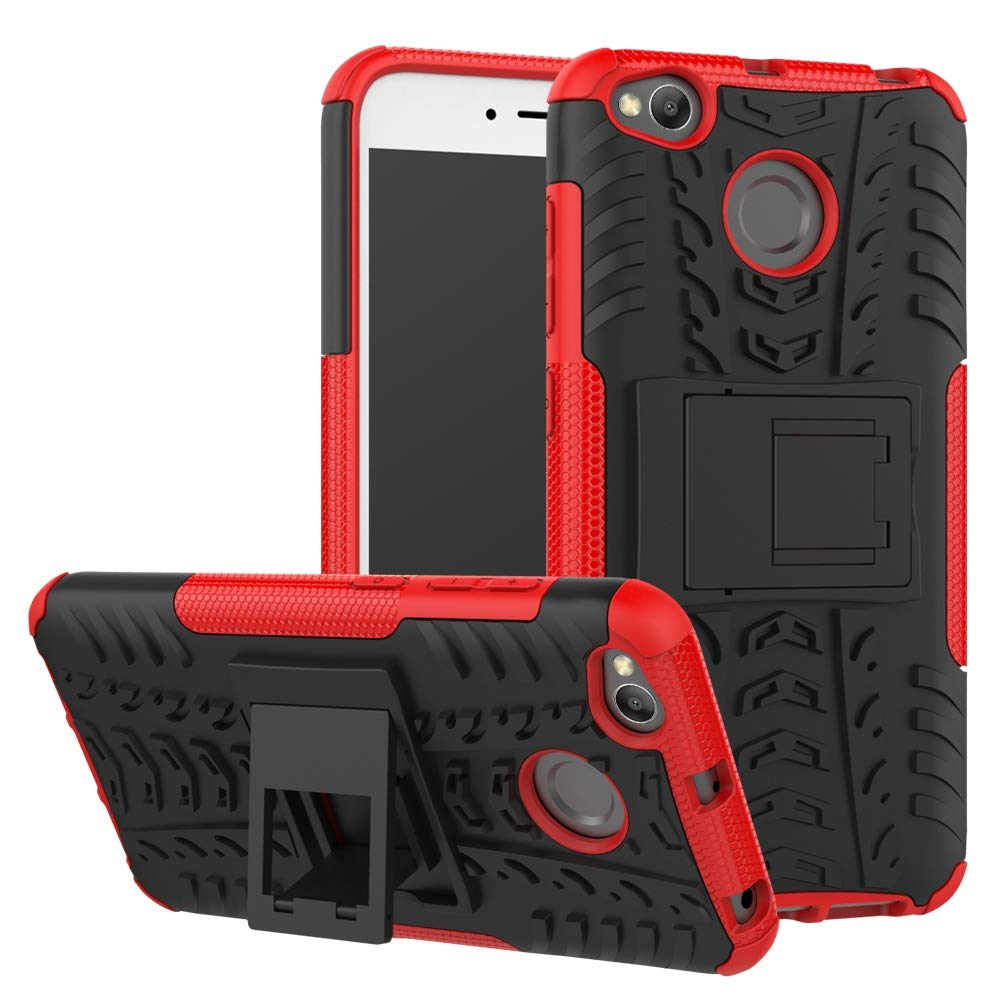 pinlu® Funda para Xiaomi Redmi 4X Smartphone Doble Capa Híbrida ...