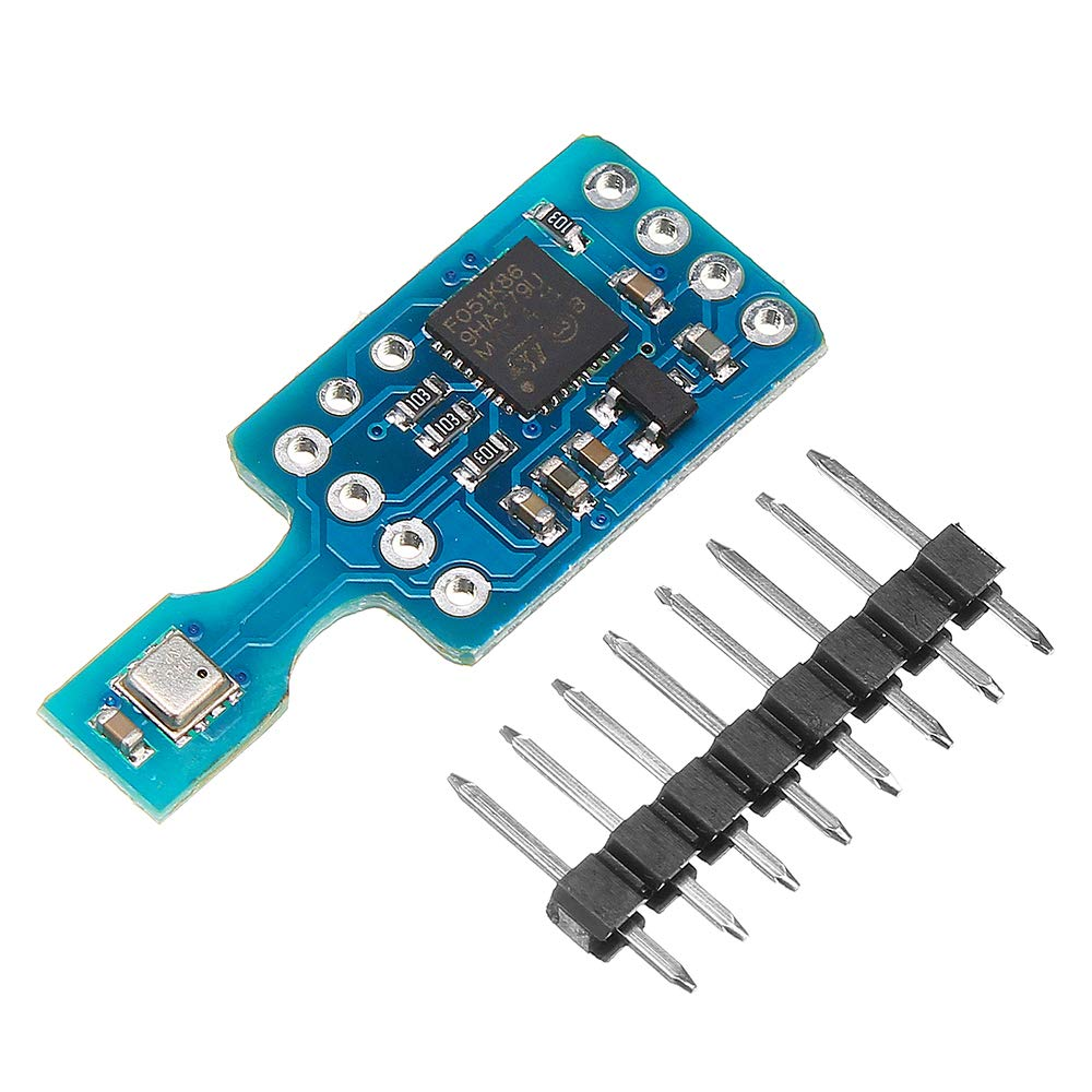 ILS - GY-MCU680V1 BME680 Temperature Humidity Pressure Indoor Air Quality IAQ Sensor Module by ILS.