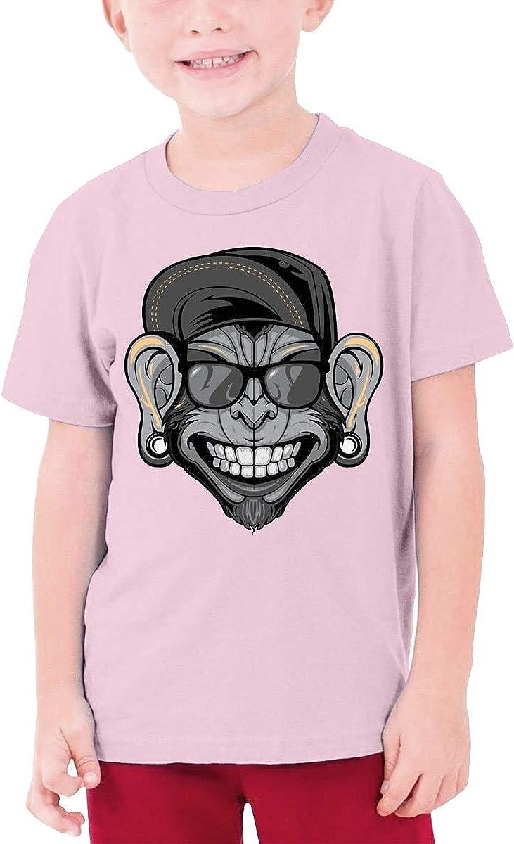 QIMING SHIPPING Monkey Head Teenage T-Shirt,Boys T-Shirts,Girls T-Shirts S-XL