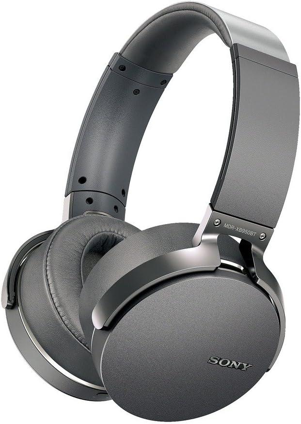 Amazon Com Sony Mdr Xb950bt H Extra Bass Bluetooth Headset Gray