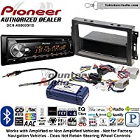 Volunteer Audio Pioneer DEH-X8800BHS Double Din Radio Install Kit with Bluetooth, HD Radio, Siruis XM Ready, USB/AUX Fits 2007-2008 Ram, 2006-2007 Chrysler 300