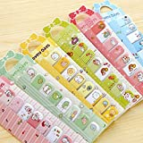 Kocome Cute Animals kawaii Sticky Notes Post-it book Page marker memo tab stickers