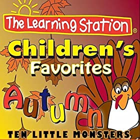 Ten Little Monsters Can't Scare Me by the Learning Station