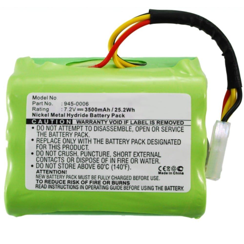 Compatibile con Neato XV-11 // XV-12 // XV-14 // XV-15 // XV-21 // XV-25-205-0001 accu Sostituzione Strumento subtel 2X Batteria Premium 945-0005 945-0006 Batterie di Ricambio 7.2V, 3500mAh, NiMH