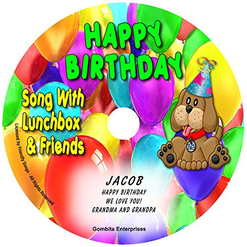 Gombita Enterprises Name Personalized Music CD - Friendly Songs Happy Birthday Song - Music CD and