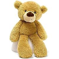 """Gund G6047547 Fuzzy Bear Stuffed Toy, 13.5"""", Beige"""