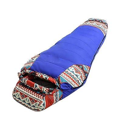 Jinclonder Saco de Dormir Ligero Relleno de plumón, -20 °C ~ 10 °