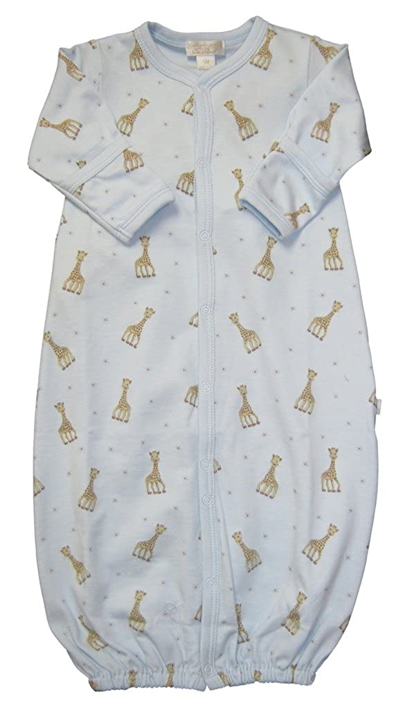 【現品限り一斉値下げ!】 Kissy la Kissy baby-boys Infant Sophie ブルー la Sophie girafe印刷Convertibleガウン Preemie ブルー B01GXMPQUW, ヒガシイワイグン:8505ba87 --- a0267596.xsph.ru