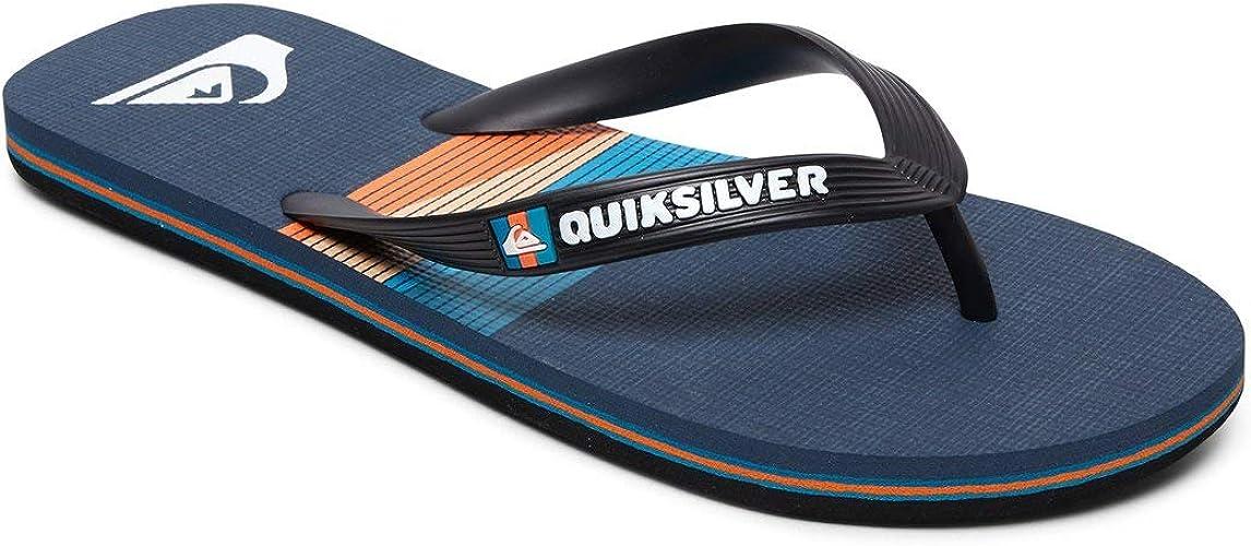 Quiksilver Mens Molokai Word Block Flip-Flop