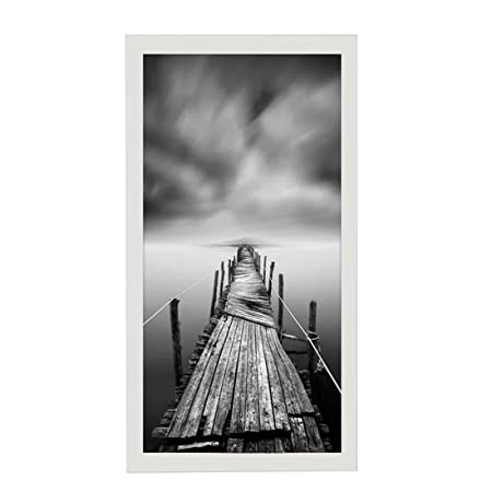 BOJIN 8x16 Movie Poster Frames Wood Wall 20x40cm Concert Picture ...