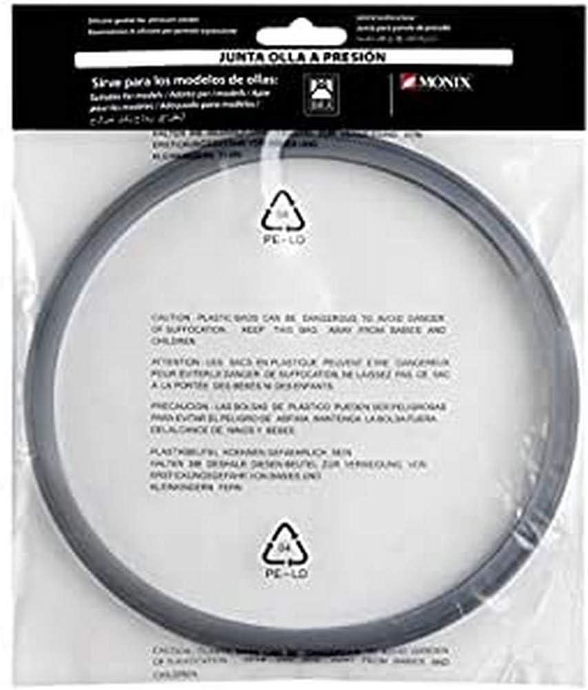 BRA A990932 - Junta-goma silicona para ollas a presión Bra y Monix capacidad 4 , 6 y 7 litros.: Amazon.es: Hogar