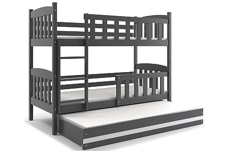 Letti Estraibili Per Bambini : Letto triplo giacomino lettino a castello con terzo letto