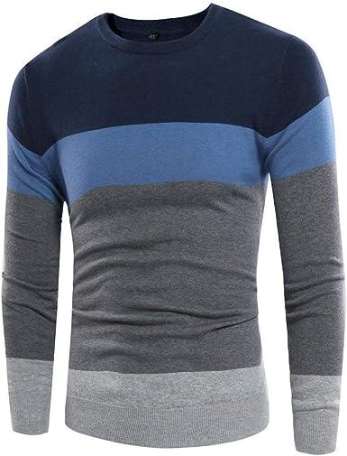 Camiseta De Hombre De Jersey con Punto Cuello Redondo ...