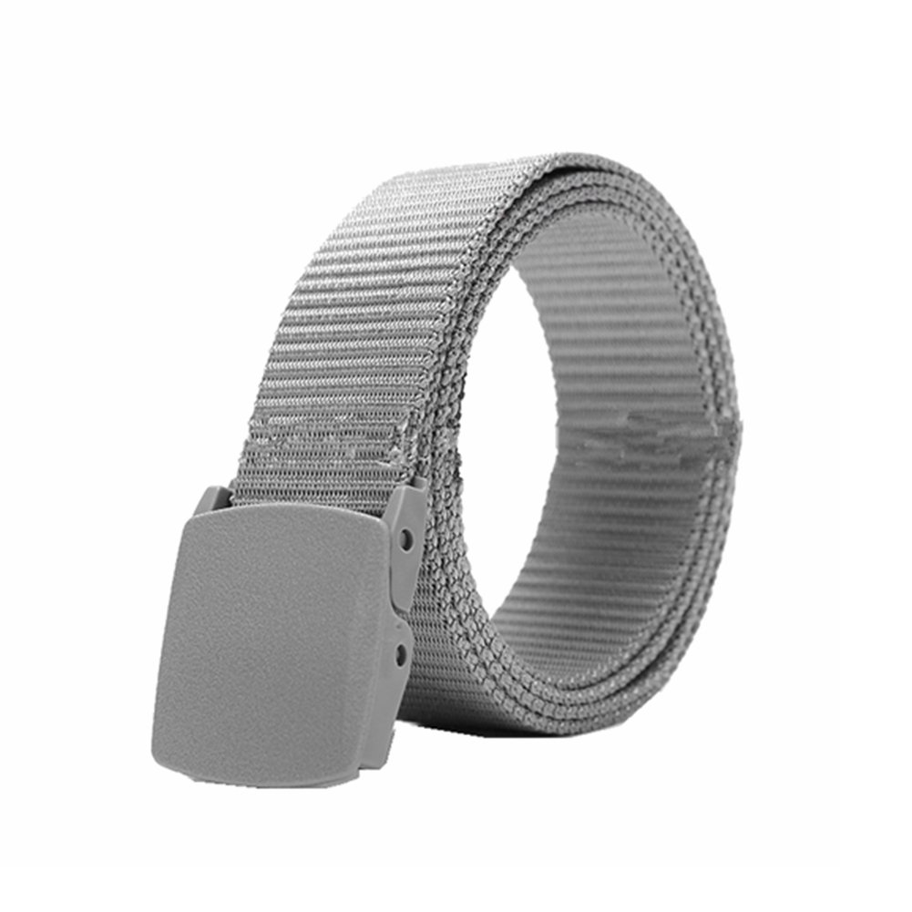 6 Color Casual Polymer Buckle Nylon Belt Smooth Buckle Canvas Belt Zhangguoxi