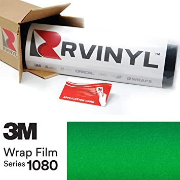 free tools VVIVID8 green chrome satin matte car wrap vinyl 13ft x 5ft conform