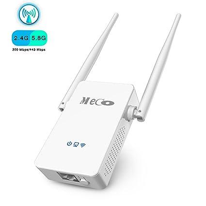 Meco WiFi repetidor AC750 N 802.11, Mini Router, punto de acceso AP/repetidor