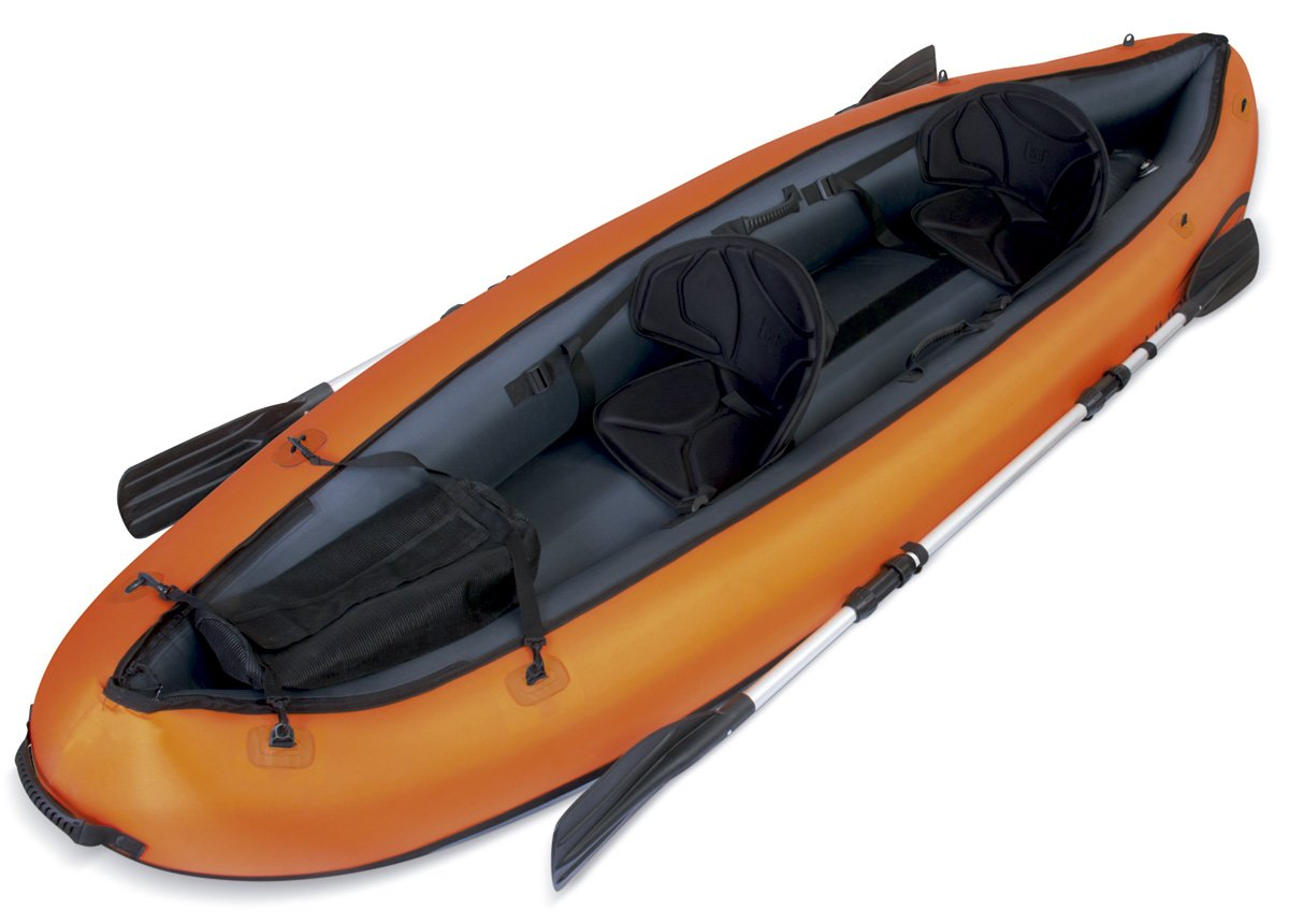 Bestway Hydro Force Ventura Kayak doble x cm incluye remos desmontables