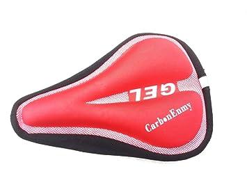 CARBONENMY Funda de sillín acolchada para bicicleta, protector ...