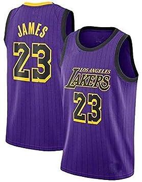 Camiseta de Baloncesto para Hombre, NBA Lebron James # 23 LA ...