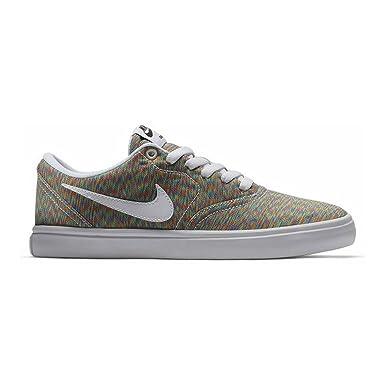 newest 187a8 a0a77 Women s Nike SB Check Solarsoft Canvas Premium Skateboarding Shoe -  Multicoloured - Medium