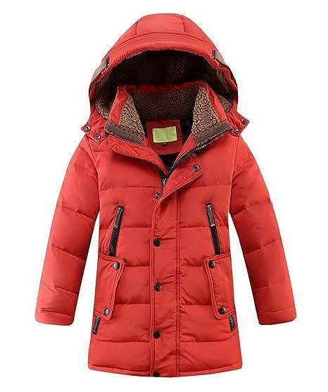 Piumino In Cotone Per Bambini Giacca Invernale Cappuccio Cappotto Parka  Piumino Giacca Puffer Cappotto Imbottito Snowsuit 1ed9a1044e85