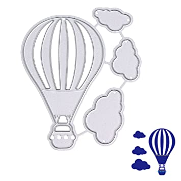 Kalttoy Heißluftballon Stanzformen Schablonen Scrapbook