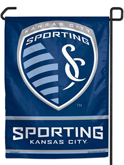 e7b39327dbd Image Unavailable. Image not available for. Color  WinCraft SOCCER Sporting  Kansas City WCR96021013 Garden Flag ...