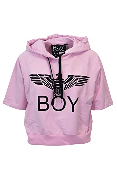Boy London - Sudadera - para mujer Rosa Tamaño de la marcaM: Amazon.es: Ropa y accesorios