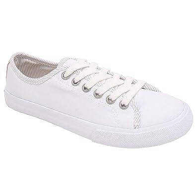 ebd4975149ed4 Amazon.com | Margaritaville Women's Canvas Tennis Shoes Laces Up ...