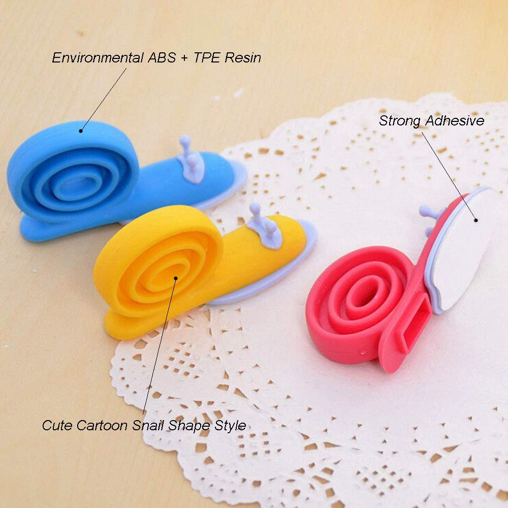 Blue//Yellow//Rose 360/° Adjustable ABS Plastic Cartoon Snail Decorative Doorstop Pinch Finger Guard Security YOCZOX Baby Kids Safety Protector Doorstop 9Pcs Door Stopper